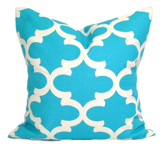 Pillow COVER Sale Bright Blue Pillow
