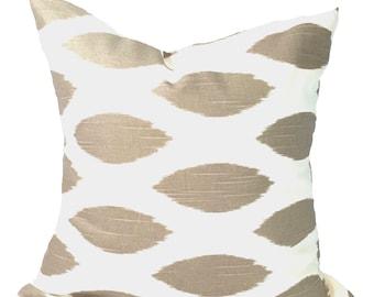 Tan PILLOW Covers.Pillow Cover, Decorative Pillow, Throw Pillow, Tan Pillows, Accent Pillow, Neutral Pillow Covers, Euro Pillow, Cushion