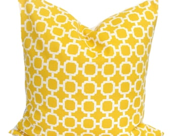 Yellow Pillows, Yellow Pillows, Yellow Indoor OUTDOOR Pillow Cover, Decorative Pillow, Yellow Throw Pillow, Yellow Euro, Yellow Cushion, cm