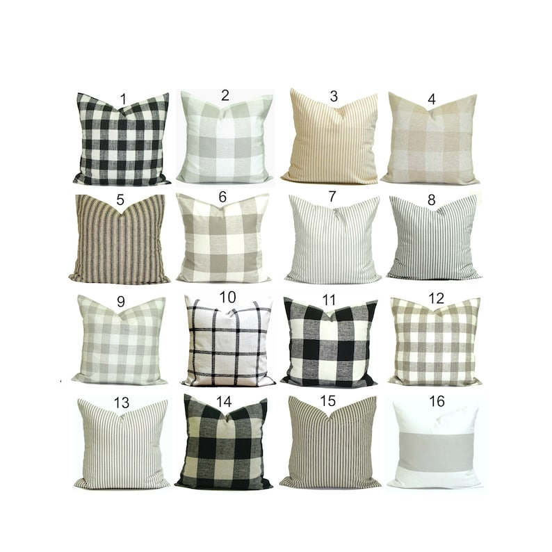 Farmhouse Pillows Farmhouse Decor Farmhouse Pillow Cover image 0