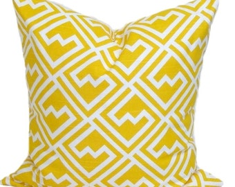Yellow Pillow Cover SALE, Yellow Pillows, Decorative Pillow, Yellow Throw Pillow, All Sizes, Yellow Euro, Yellow Cushion, Shakes