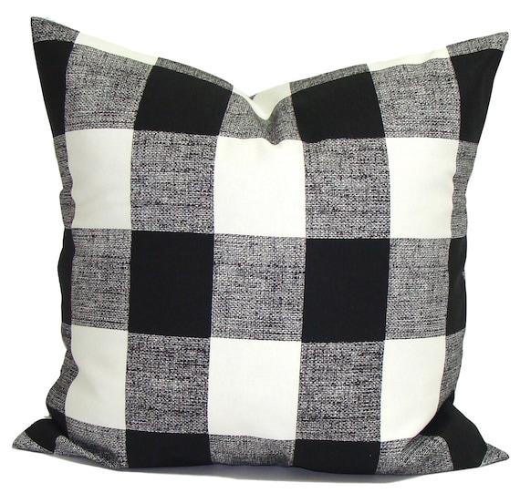 OUTDOOR Christmas Pillow Cover Buffalo Check Pillow Cover Etsy Amazing Outdoor Christmas Pillow Covers