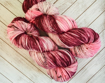 It's My New Obsession - Hand Dyed DK Weight Yarn 100% Superwash Merino Wool