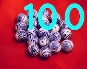 14mm Longevity Beads - 100 pcs (B061)