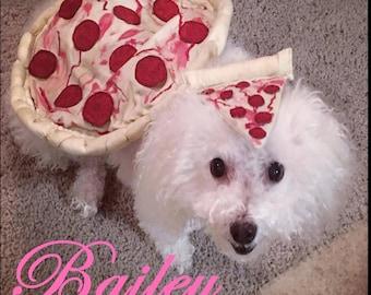 Dog Pizza Costume, Pet costume, Dog Costume, Pizza Costume, Dog Halloween, Dog Halloween Costume