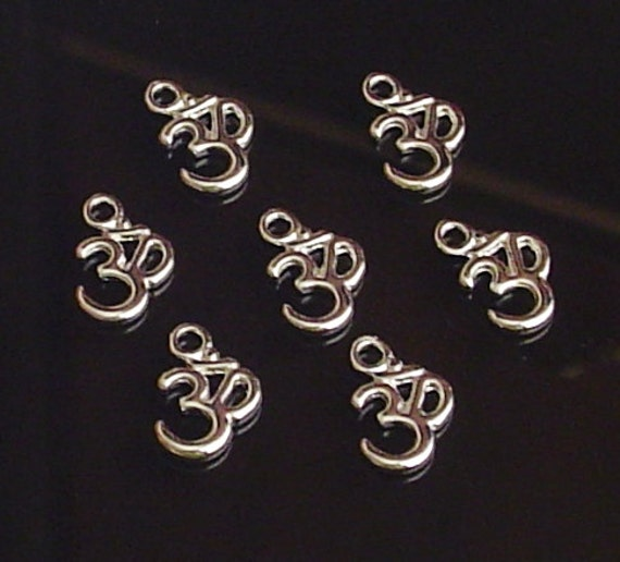 Pack of 10 Tibetan Silver Tone Infinity Style Symbol Connector 23mm x 8mm
