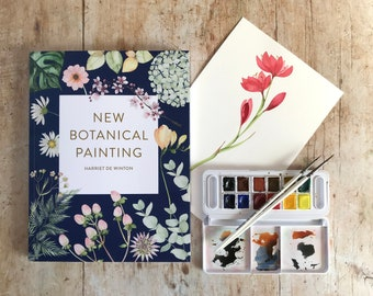 New Botanical Painting by Harriet de Winton Signed Copy | Watercolour book | Flower Painting Book | Learn to paint | Painting Gift