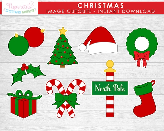 Irresistible image within christmas cutouts printable