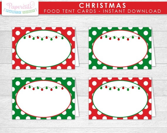 Vibrant image intended for free printable food tent cards