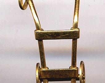 ON  SALE JMS 12K Gold Filled Dolly  Charm  Item: 14532
