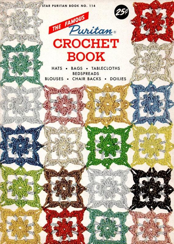 1950er Jahre häkeln stricken Nähen Muster Puritaner Buch Hüte | Etsy