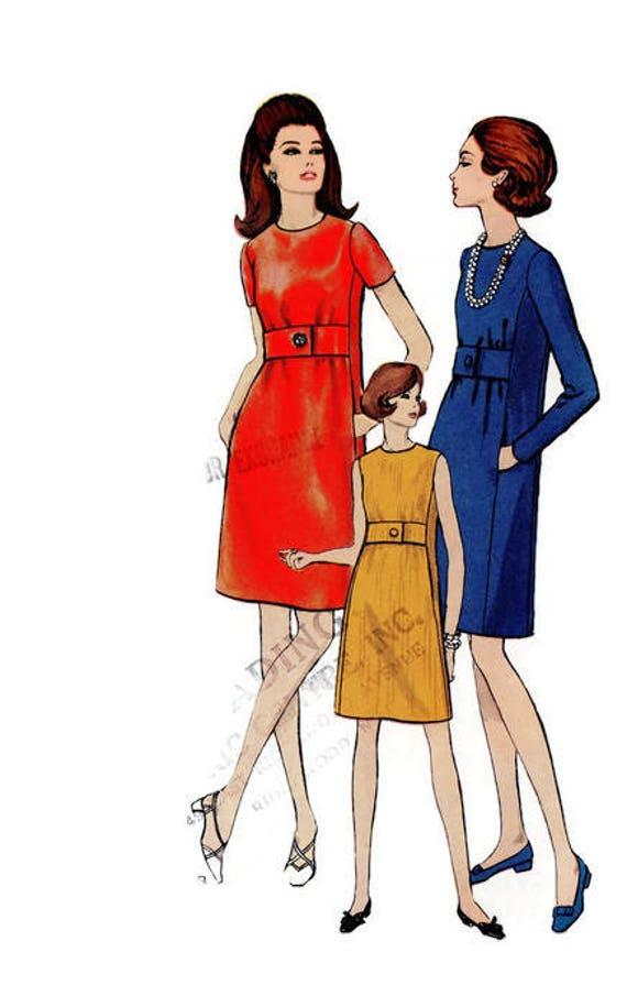 Vintage Vogue 7369 Schnittmuster 60er Jahre 70er Jahre Style Etsy