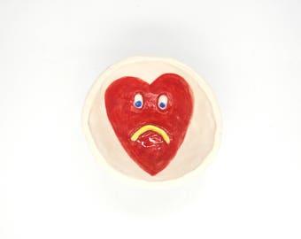 Heart Ceramic Ring Dish