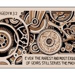 Tragedy 32: Exquisite Gear Print