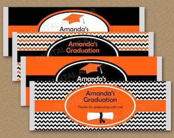 Graduation Candy Bar Wrapper Template, Chocolate Bar Wrapper, High School Graduation Party Favors, Graduation Favors, Editable Printable G3