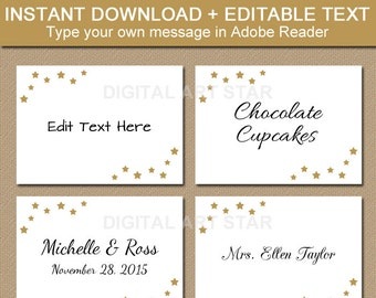 printable christmas labels tent cards holiday place cards etsy