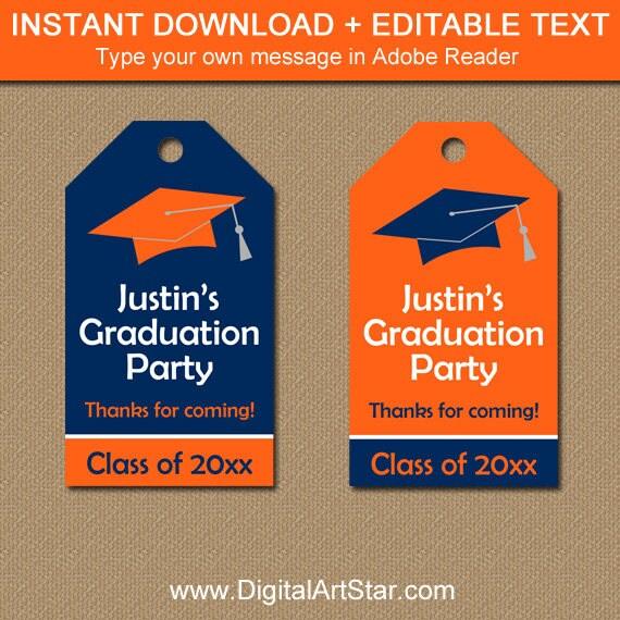 graduation tags printable graduation hang tags high school