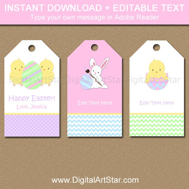 graphic relating to Printable Easter Tags identified as Easter Tags - Easter Present Tags Printable - Easter Printable Tags - Easter Thank On your own Tags - Easter Bunny Tags - Easter Prefer Tags Obtain