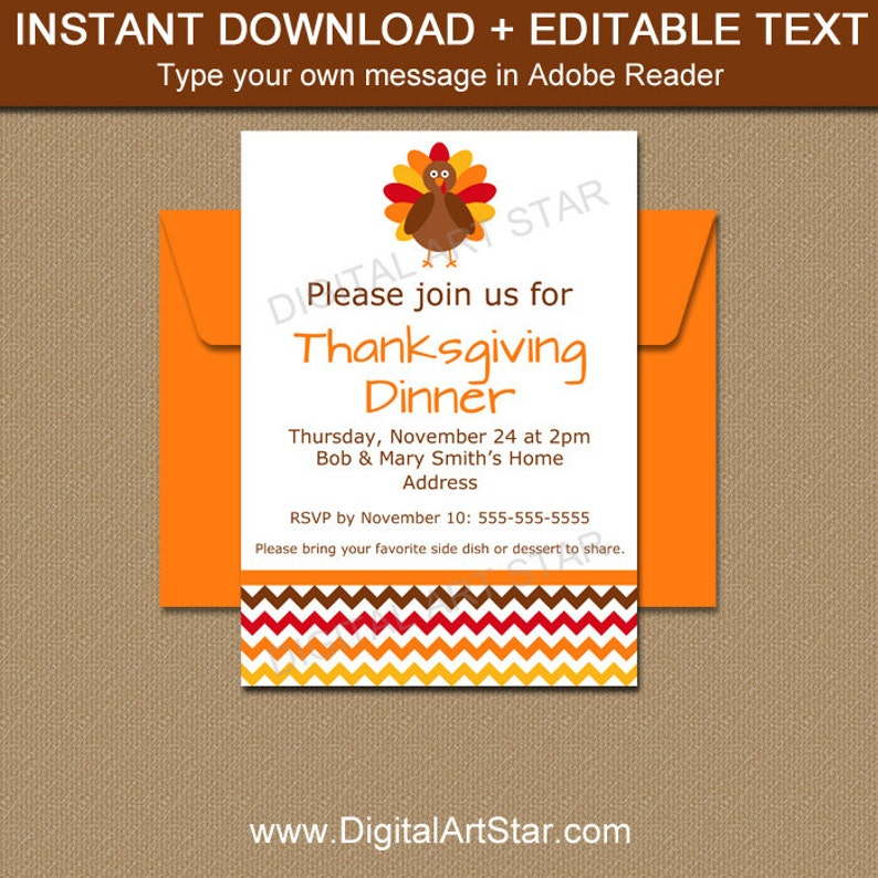picture regarding Printable Thanksgiving Invitations titled Quick Down load Thanksgiving Invitation Template - Printable Thanksgiving Boy or girl Shower Invite - EDITABLE Thanksgiving Youngster Announcement T3