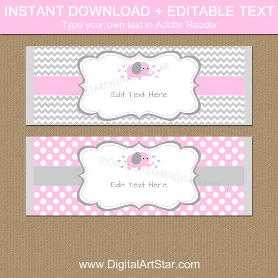 Chocolate Bar Wrapper Template from i.etsystatic.com