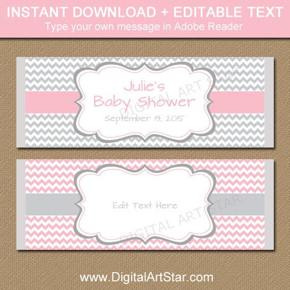 Awe Inspiring Baby Shower Candy Wrapper Template Printable Chocolate Download Free Architecture Designs Scobabritishbridgeorg