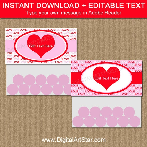 bbae6d2f4fb9 Valentine Party Favor Bags