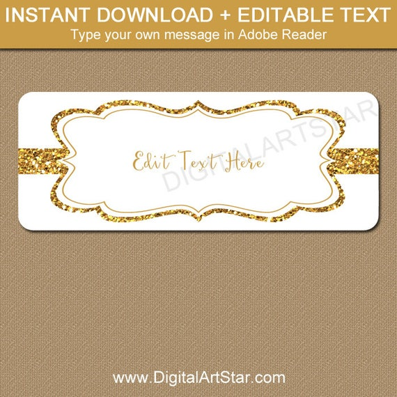 gold address labels fancy address labels gold wedding etsy