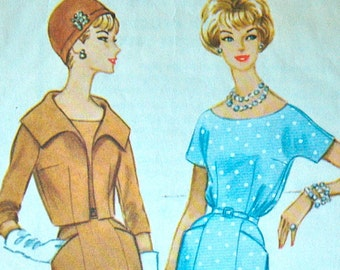 1950's McCall's Dress and Jacket Pattern - Bust 32 - no. 5287