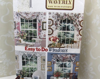 Butterick Waverly Easy To Sew Curtains At Home With 3395 DIY By Pattern Decor