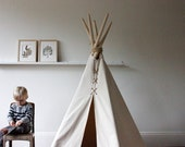 Mini 5 ft Fold - Away Canvas Teepee