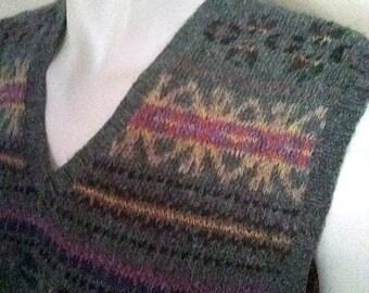 6084e1ff2d84 Ralph Lauren Handknit Indian Aztec sweater XL