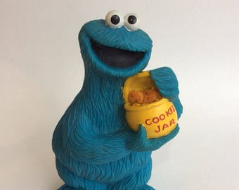 Vintage Cookie Monster Piggy Bank