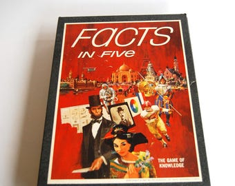 Vintage Game Facts In Five 3M Bookshelf