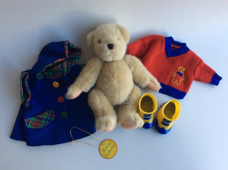 Vintage Muffy Vanderbear with Outfits Teddy Bear