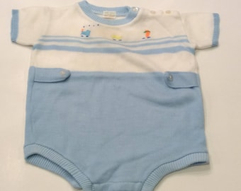 Vintage Baby Outfit, Soft Spun