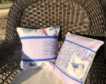 Feathers of the Soul Pillow Covers (Set of 2)