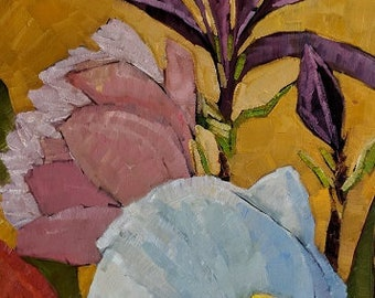 Tulips Original Oil Painting