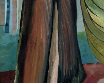 Cedar Tree Original Oil Painting