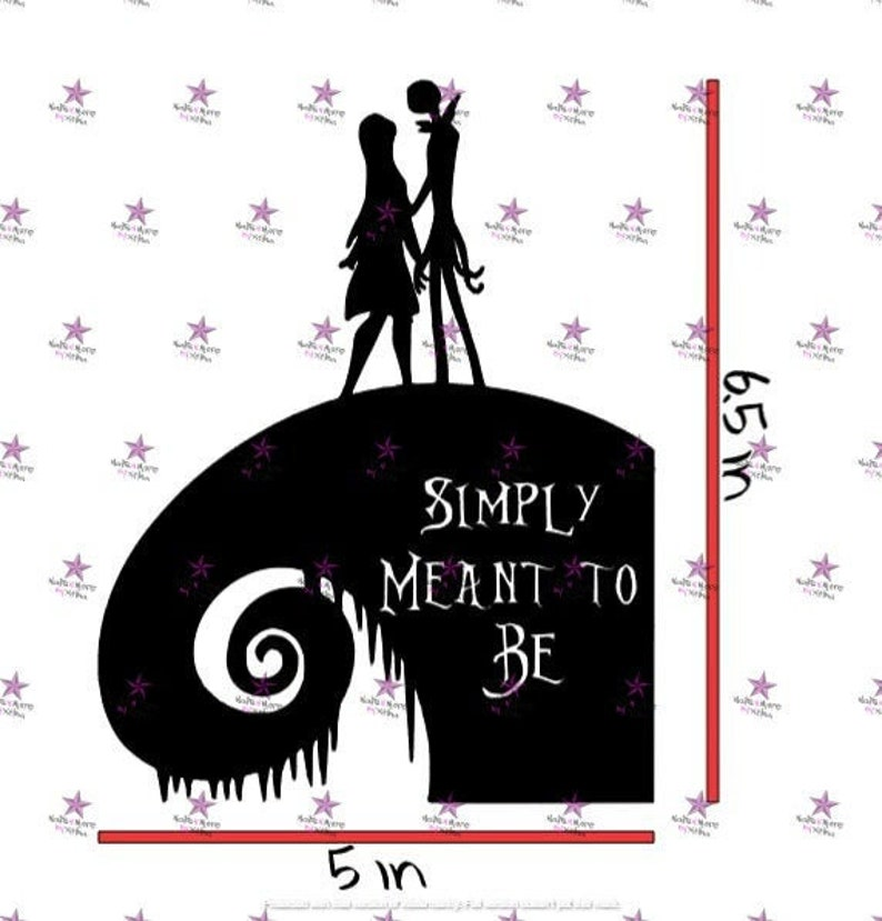 Jack /& Sally Hill Decal
