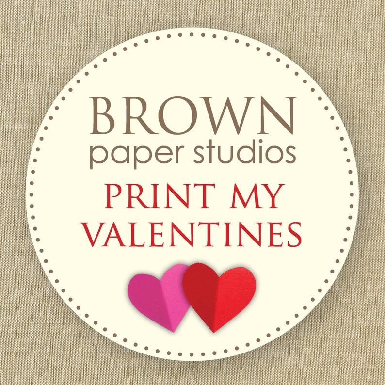 Printed school valentines printed valentine cards