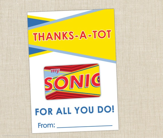 Where can you buy sonic gift cards