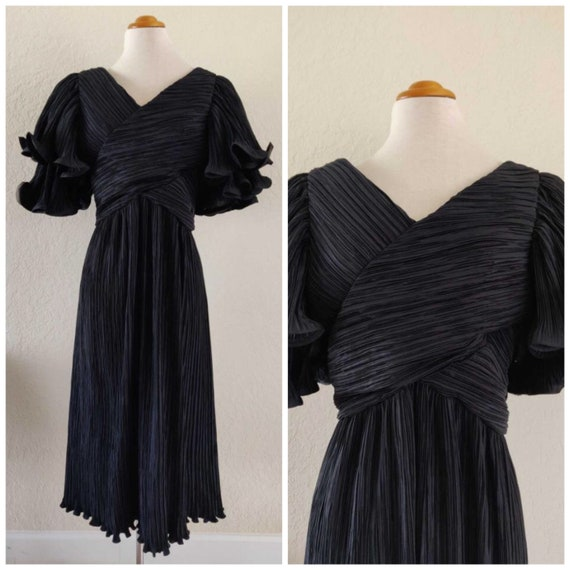 1980s Glamour Avant-Garde Cocktail Dress