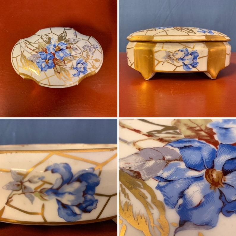 French porcelain box.