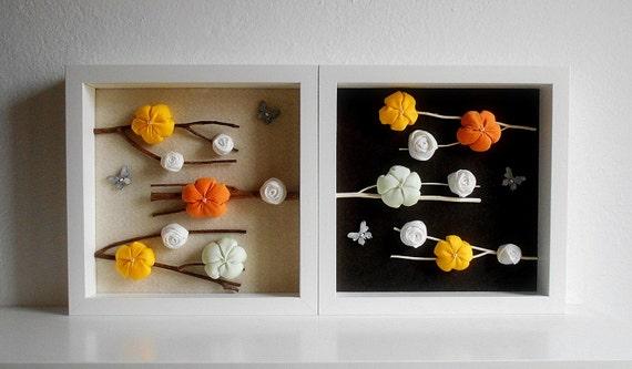 Cornice ikea ribba decoro casa fiori e rami decorazione etsy - Decorazioni muro ikea ...