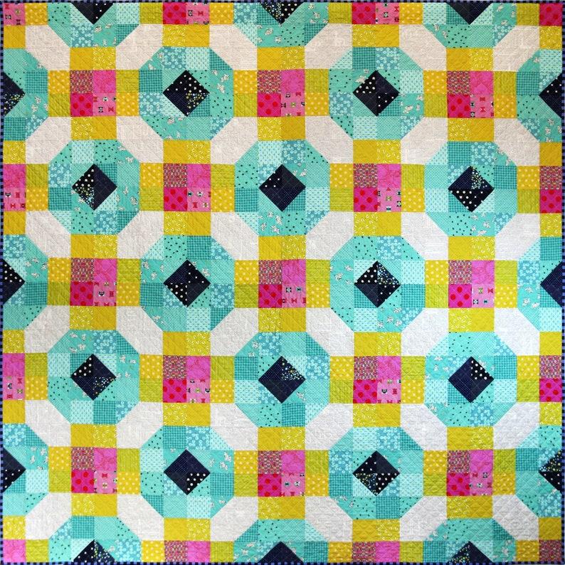 Wake Me Up Quilt Pattern PDF by Emma Jean Jansen  Immediate image 0