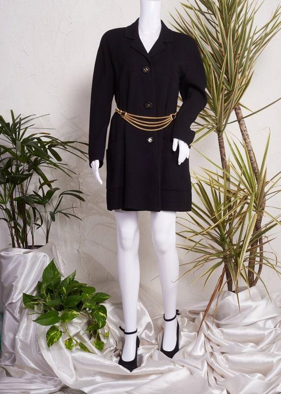 1990s// CHANEL Boutique Paris// Dress Length Jacke
