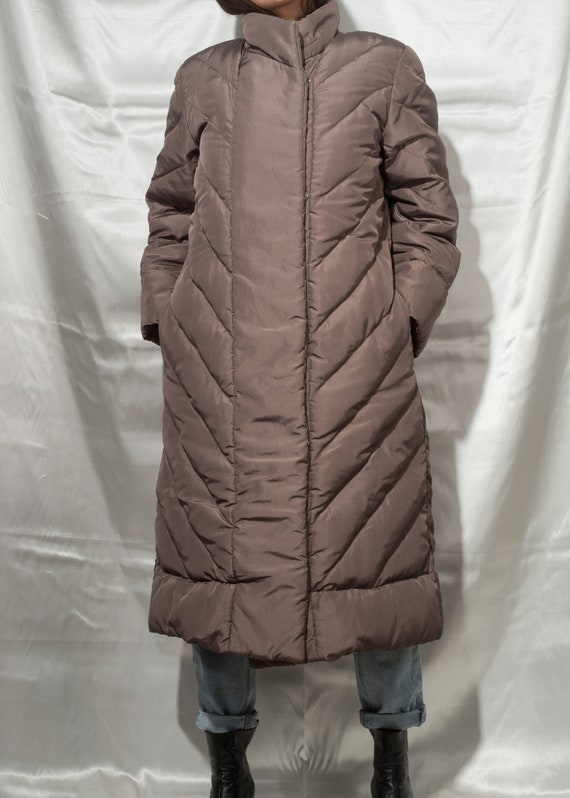 1980s// BILL BLASS// Rare Vintage Quilted Down Wi… - image 2