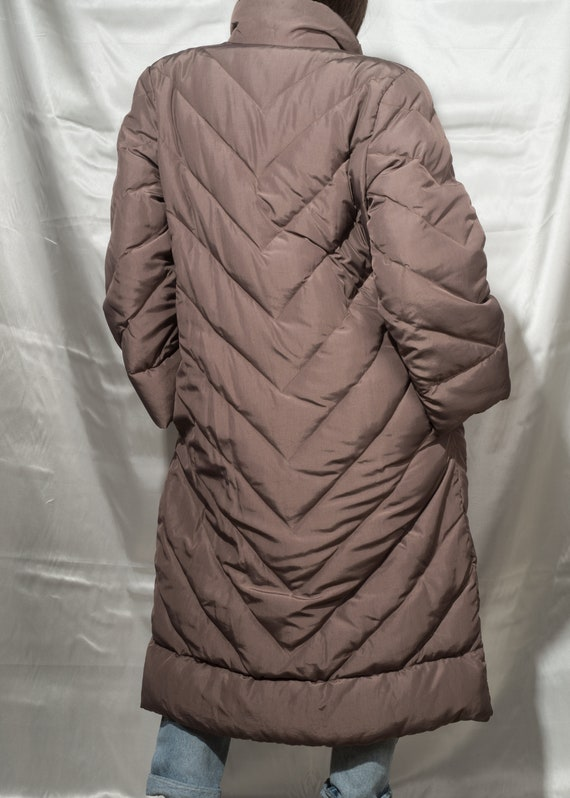 1980s// BILL BLASS// Rare Vintage Quilted Down Wi… - image 4