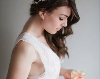 Bridal Headpiece Pearl - Gabrielle