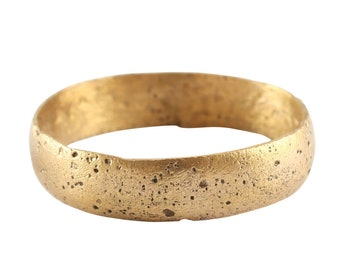Size: US 10 34   20.37 mm Authentic Medieval Viking Man/'s Wedding Ring C.850-1050 AD Ancient Norse Artifact